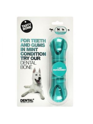 Honden Tandreinigend Kauwspeelgoed Tasty Dental Bone Peppermint