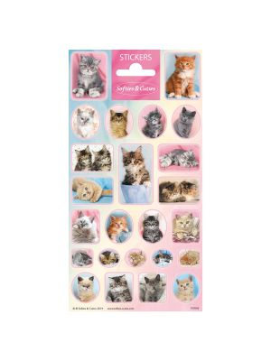 Stickervel Cutie Kittens