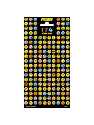 Stickervel Twinkle - Happy Faces