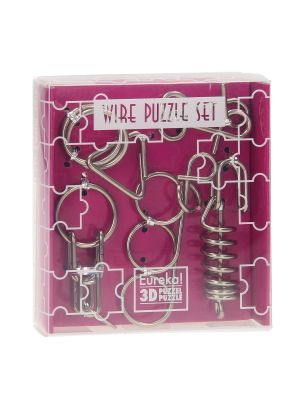 First Wire Puzzle Set - Roze
