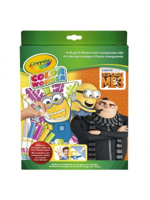 Crayola Color Wonder - Despicable Me 3