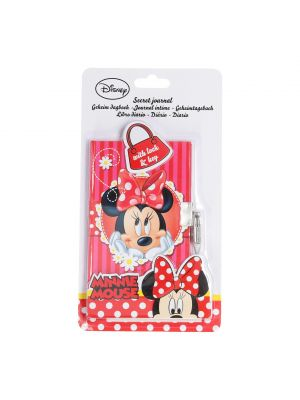 Minnie Mouse Dagboek met Slot