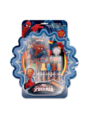 Spiderman Kleurset, 10dlg