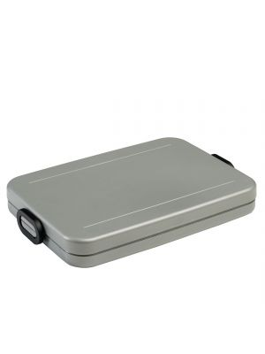 Mepal Lunchbox Take a Break Flat - Silver