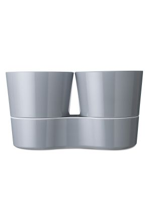 Mepal Kruidenpot Twin - Grey