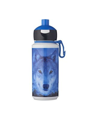 Campus Drinkfles Pop-up - Animal Planet Wolf