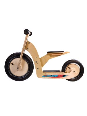 Acrobat Houten StepBike, 2in1