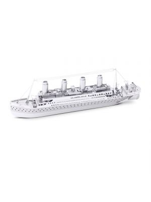 Metal Earth Titanic Ship Zilver Editie