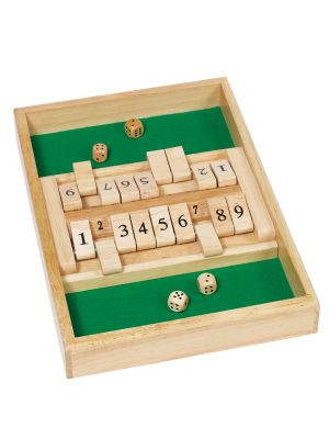 Shut the Box Dobbelspel