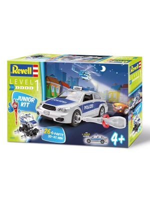 Revell Junior Kit Politiewagen
