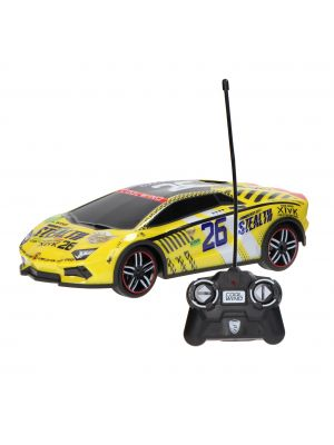 RC Auto 1:14 Channel - Geel